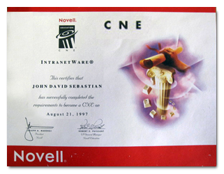 Novell CNE Certified Network Engineer