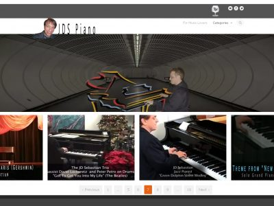 www.jdspiano.com - The Piano Performance Music Video Website of JD Sebastian